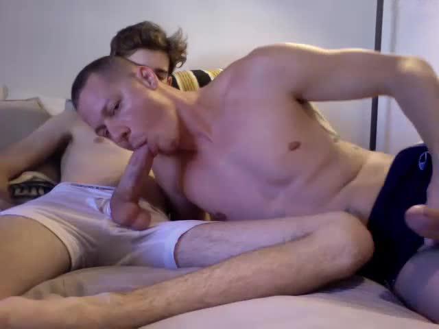 2 cocks held together