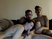 muscular-dude-with-two-horny-girls-sucking-his-cock-7