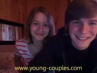 teen couple fuck on webcam