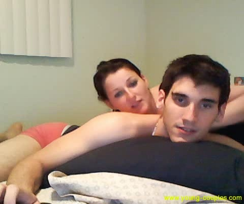 young college couple having sex